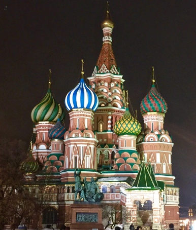"St. Basil's Cathedral - ""Love-ly!"" – Version 2"